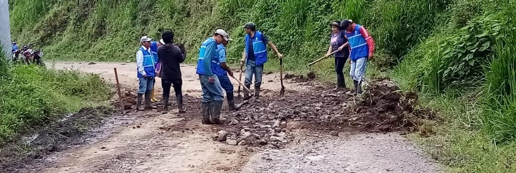 MANTENIMIENTOS EN LAS VÍAS DE NUESTRA PARROQUIA.