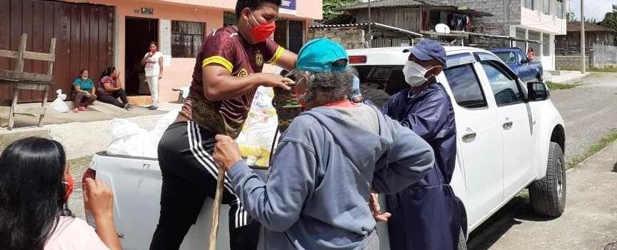 APOYO A LA COMUNIDAD VULNERABLE EN TIEMPO DE PANDEMIA